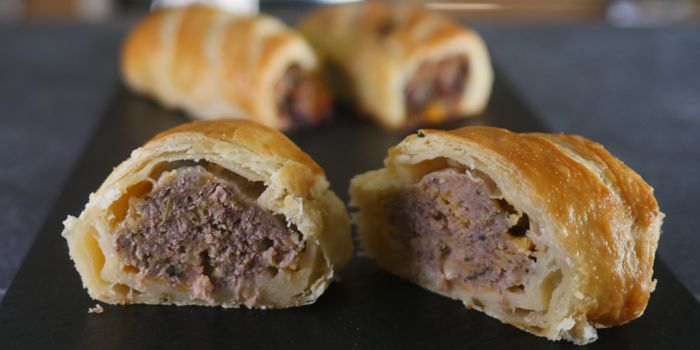 Beef and Cheese Sausage Rolls Recipe