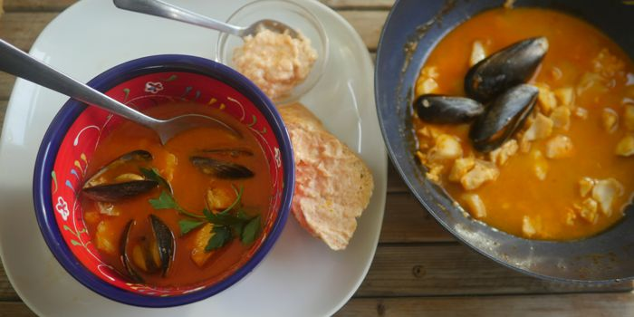 Bouillabaisse with Rouille Recipe