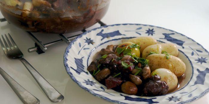 Beef Bourguignon | Boeuf Bourguignonne Recipe