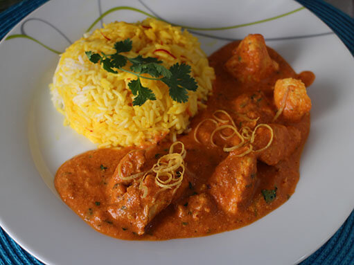 Butter Chicken - Murgh Makhani Recipe
