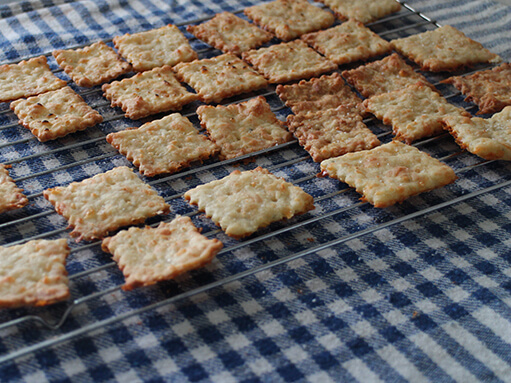 Cheese Crackers Recipe Recipe