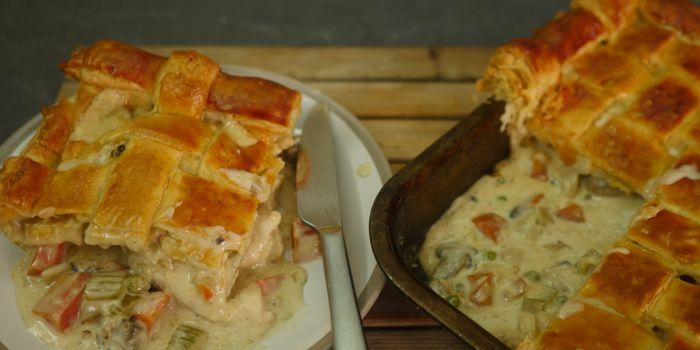 Chicken & Vegetable Pie Recipe