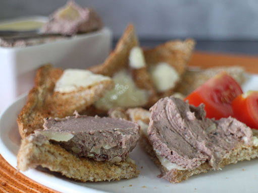 Chicken Liver Paté Recipe