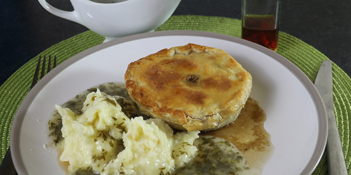 Pie and Mash with Liquor Recipe