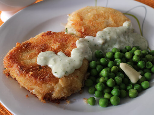 Fishcakes with Parsley Sauce Recipe