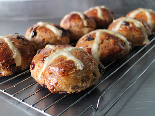 Hot Cross Buns For Easter Recipe