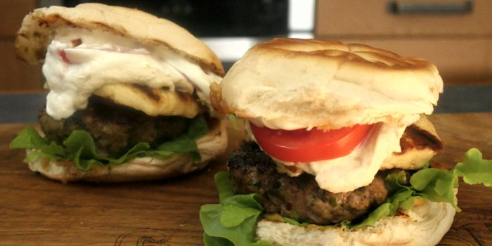 Lamb Kofta Burger Recipe