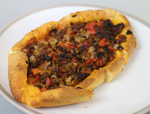 Turkish Meat Pizza - Kiymali Pide Recipe
