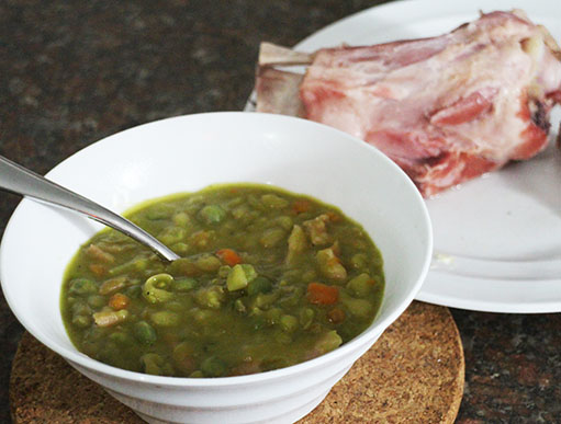Pea and Ham Soup Recipe
