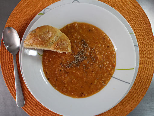 Spicy Roasted Parsnip Soup Recipe