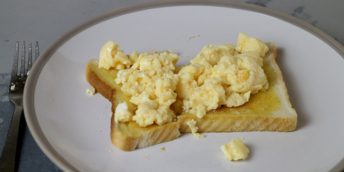 Scrambled Eggs 3 Ways Recipe
